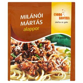 Csoda Konyha milánói mártás alappor 48 g