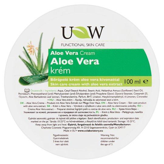 UW Skin Care Cream with Aloe Vera Extract 100 ml