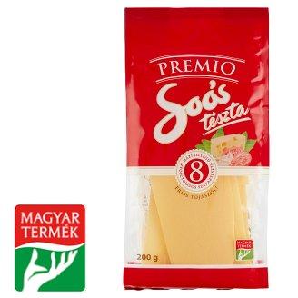 Soós Premio Homestyle Maltagliati Dried Pasta with 8 Eggs 200 g