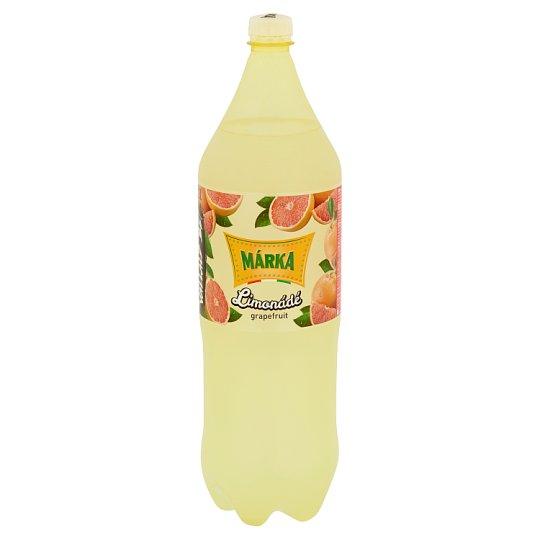 Márka Limonádé grapefruit-citromfű ízű szénsavas üdítőital cukorral és édesítőszerekkel 2 l