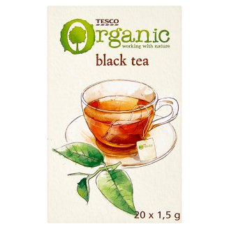 Tesco BIO fekete tea 20 filter 30 g