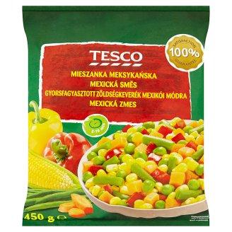 Tesco gyorsfagyasztott zöldségkeverék mexikói módra 450 g