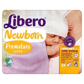 Libero Newborn Premature <2,5 kg Nappies 24 pcs