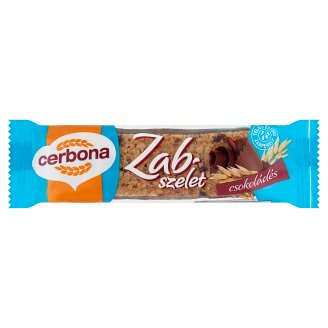 Cerbona Oat Bar with Chocolate 50 g