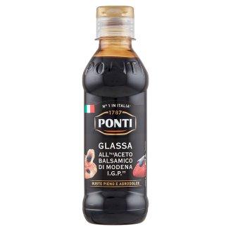 Ponti Glassa Gastronomica balzsamecet krém modenai balzsamecetből 250 g