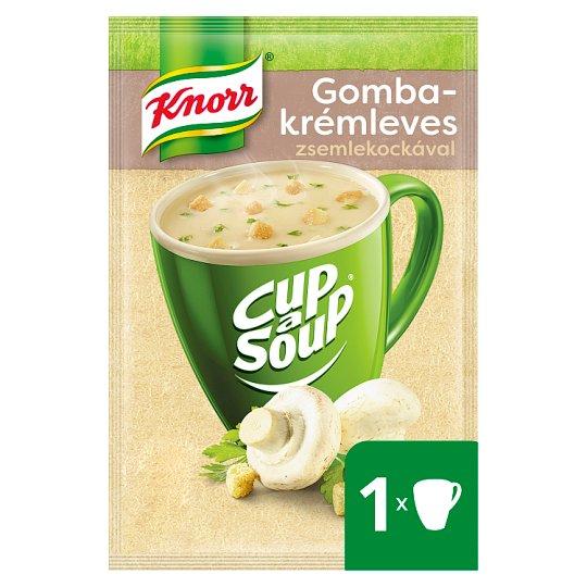 Knorr Cup a Soup gombakrémleves zsemlekockával 15 g