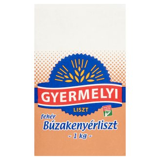 Gyermelyi White Wheat Bread Flour BL 80 1 kg