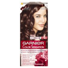 image 1 of Garnier Color Sensation 4.15 Icy Chestnut Intensive Permanent Cream Hair Colorant