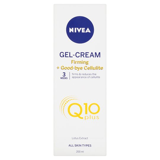 Nivea Q10 Plus Firming + Good-bye Cellulite Gel-Cream 200 ml