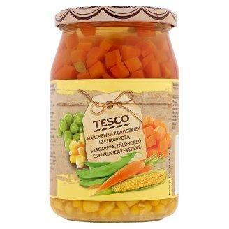 Tesco sárgarépa, zöldborsó és kukorica keveréke 700 g