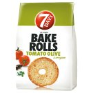 7DAYS Bake Rolls Bread Crisps with Tomato-Olive-Oregano Seasoning 80 g