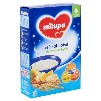 Milupa Szép álmokat! Milk Pulp with Fruit 6+ Months 250 g