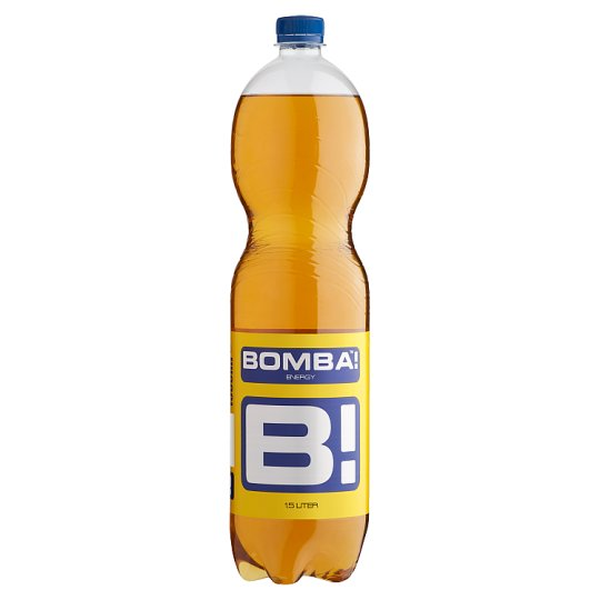 BOMBA! Carbonated Energy Drink with Sugar and Sweeteners with Caffeine Content 1,5 l