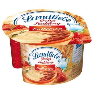Landliebe Semolina Pudding with Strawberry Sauce 150 g