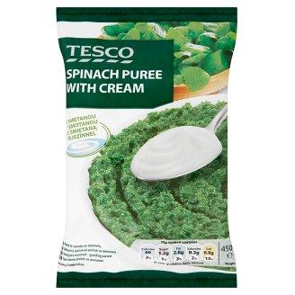 Tesco gyorsfagyasztott parajpüré tejszínnel 450 g