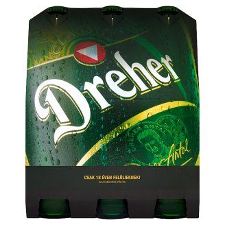 Dreher Classic Quality Lager Beer 5,2% 6 x 0,5 l
