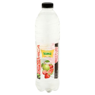 Márka Strawberry-Guava Flavoured Noncarbonated Low-Energy Soft Drink with Sugar and Sweetener 1,5 l