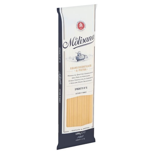 La Molisana Spaghetti N°15 Durum Wheat Semolina Pasta 500 g