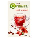 Tesco Fruit Infusion Organic Fruit Tea 20 Tea Bags 40 g