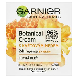 image 1 of Garnier Skin Naturals Botanical Hydrating Cream with Nectar for Dry Skin 50 ml