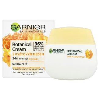 image 2 of Garnier Skin Naturals Botanical Hydrating Cream with Nectar for Dry Skin 50 ml