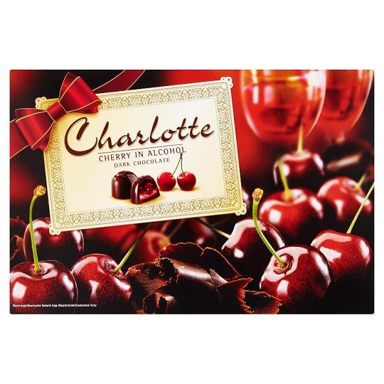 Charlotte Sour Cherry Liqueur Filled Dark Chocolate Bonbon 232 g