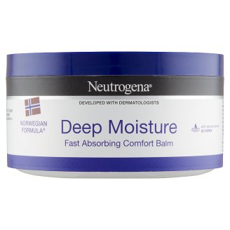 Neutrogena Deep Moisture Comfort Balm for Body & Face with Norwegian Formula 300 ml