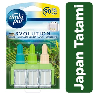 Ambi Pur 3Volution Japan Tatami Plug-In Refill 20ml