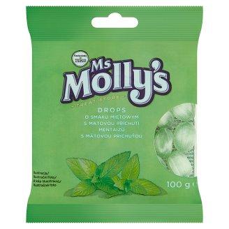 Ms Molly's mentaízű töltetlen keménycukorka 100 g