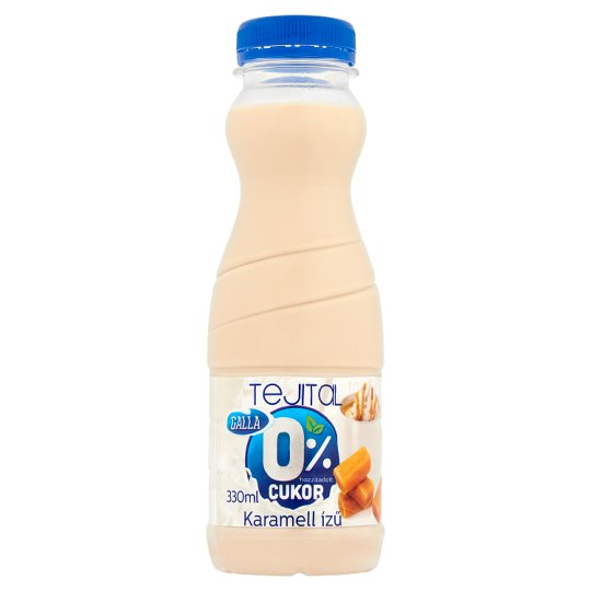 Galla Caramel Flavoured Milk Drink with Sweeteners 330 ml
