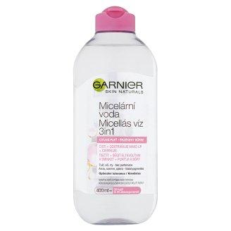Garnier Skin Naturals 3in1 micellás víz érzékeny bőrre 400 ml