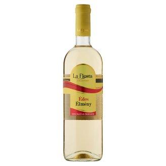 La Fiesta Édes Élmény Duna-Tisza Közi Cuvée Sweet Hungarian White Wine 10% 750 ml