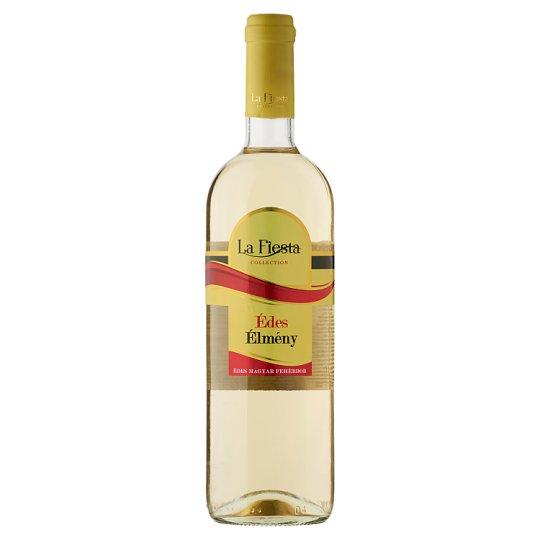La Fiesta Édes Élmény Duna-Tisza Közi Cuvée édes magyar fehérbor 10% 750 ml