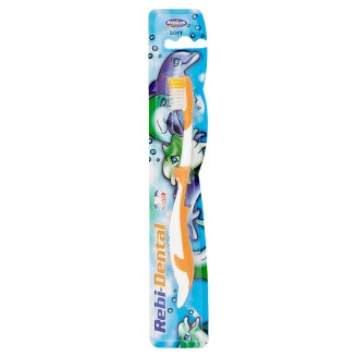 Rebicek Rebi-Dental lágy sörtéjű fogkefe