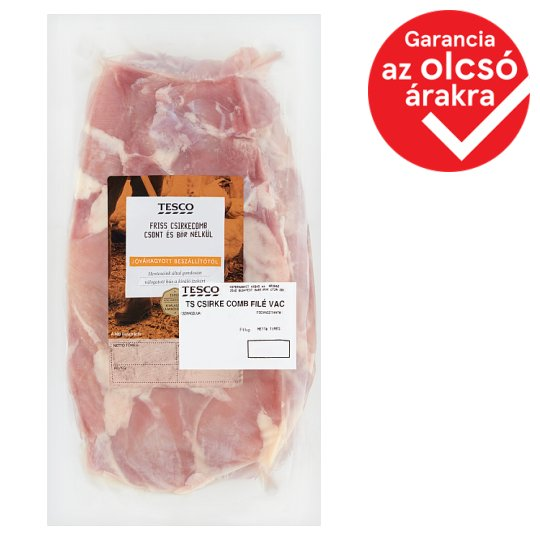 Tesco Fresh Chicken Thighs without Bones and Skin