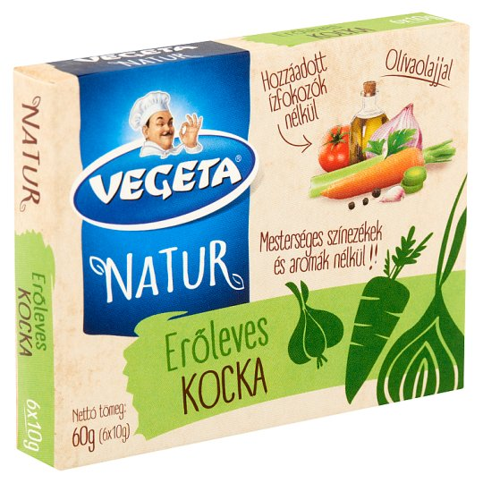 Vegeta Natur erőleves-kocka 6 x 10 g