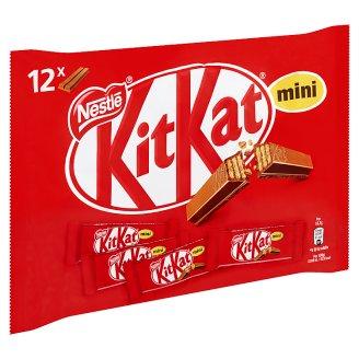 KitKat Mini ropogós ostya tejcsokoládéban 12 db 200 g