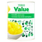 Tesco Value Pineapple Pieces in Syrup 567 g