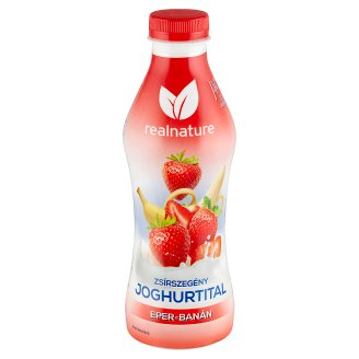 Real Nature ProXY Strawberry-Banana Flavoured Low-Fat Yoghurt Drink 750 g
