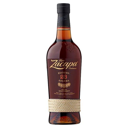 image 1 of Ron Zacapa Centenario Sistema Solera 23 Rum in Fancy-Box 40% 0,7 l