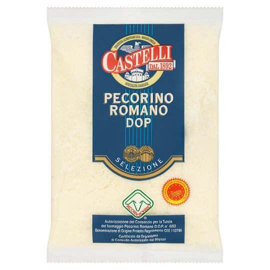 Castelli Pecorino Romano reszelt sajt juhtejből 50 g