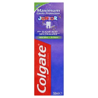 Colgate Maximum Cavity Protection Junior Mild Mint fogkrém 6 éves kor felett 50 ml