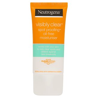 image 2 of Neutrogena Visibly Clear Spot Proofing Oil Free Moisturiser 50 ml