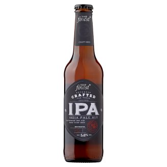 Tesco Finest IPA Unfiltered Quality Lager Beer 5,8% 330 ml