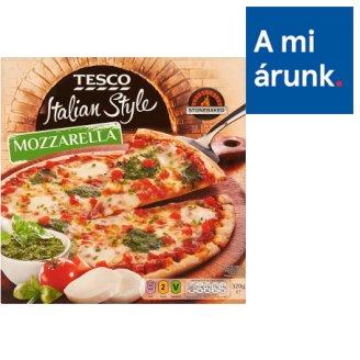 Tesco Italian Style Mozzarella gyorsfagyasztott, elősütött pizzalap 320 g