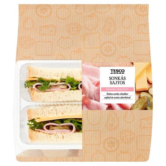 Tesco sonkás-sajtos szendvics 165 g