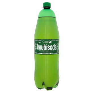 Traubisoda Carbonated White Grape Drink with Sugar and Sweeteners and Mineral Water 2 l