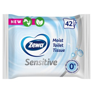 Zewa Pure Moist Toilet Tissue 42 pcs
