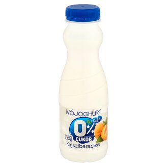 Galla Low-Fat Apricot Yoghurt Drink with Sweetens 330 g
