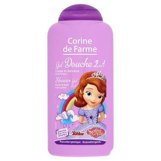 Corine de Farme Disney Sofia erdei gyümölcs illatú tusfürdő és sampon érzékeny bőrre 250 ml